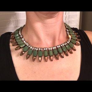 J Crew jeweled necklace